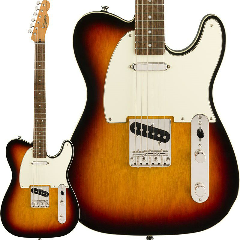 Classic Vibe '60s Custom Telecaster (3-Color Sunburst/Laurel Fingerboard)_1
