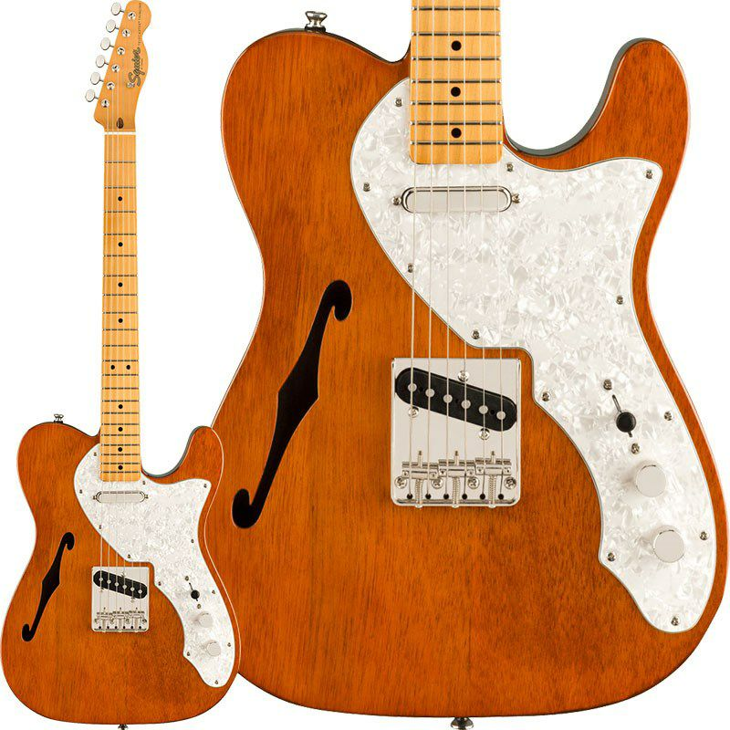 Classic Vibe '60s Telecaster Thinline (Natural/Maple Fingerboard)_1