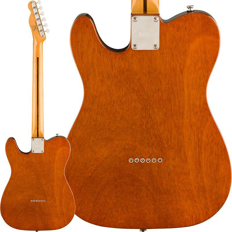 Classic Vibe '60s Telecaster Thinline (Natural/Maple Fingerboard)_2