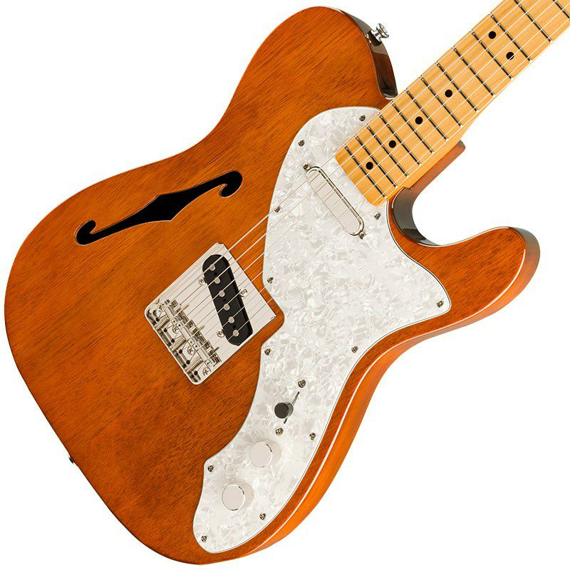 Classic Vibe '60s Telecaster Thinline (Natural/Maple Fingerboard)_3