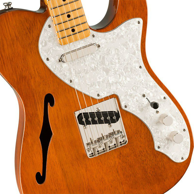 Classic Vibe '60s Telecaster Thinline (Natural/Maple Fingerboard)_4