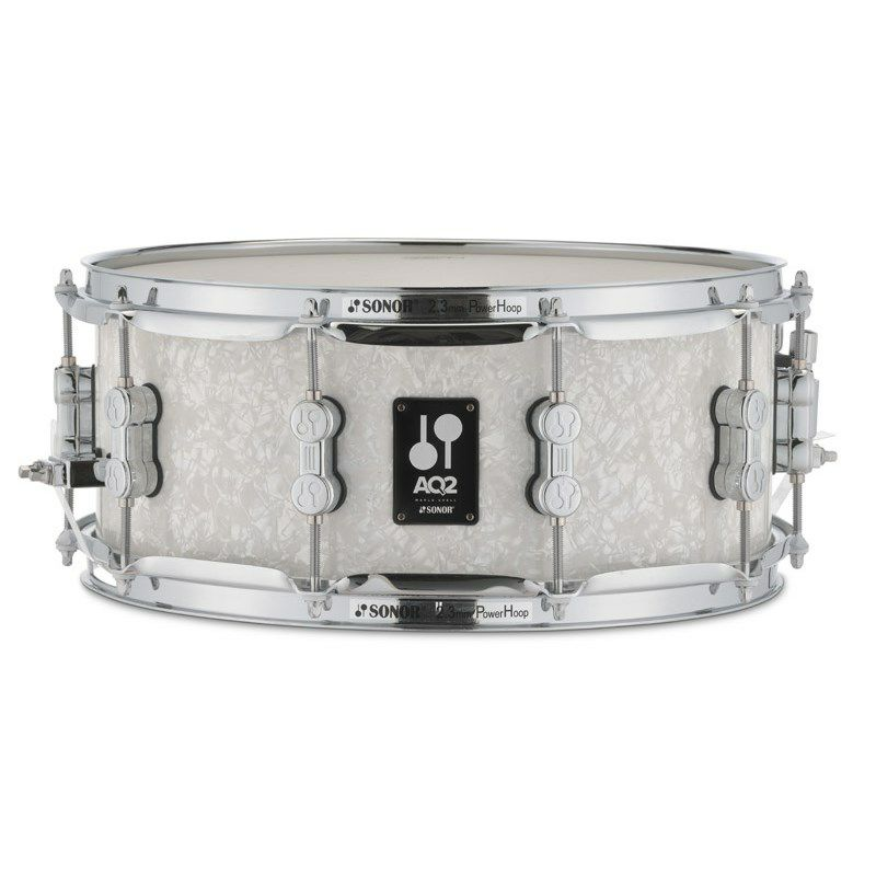 AQ2-1406SDW #WHP [AQ2 Series Maple Snare Drum 14x6/ホワイトパール]※お取り寄せ品_1