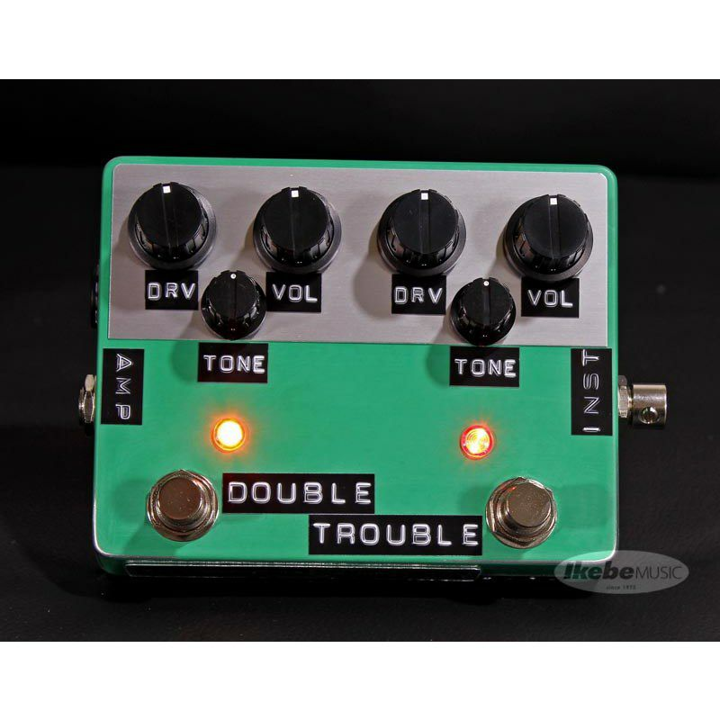 DOUBLE TROUBLE, Green Relic [Ultimate SRV Sound]_2