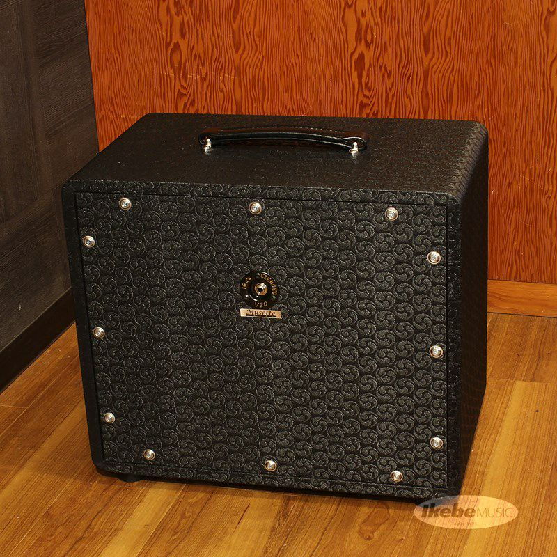 112 Cube Cabinet, closed back/dual ported, Comet, Black, Silver Piping[16Ω仕様]_2