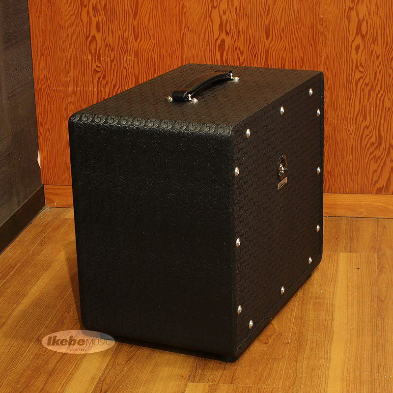 112 Cube Cabinet, closed back/dual ported, Comet, Black, Silver Piping[16Ω仕様]_4