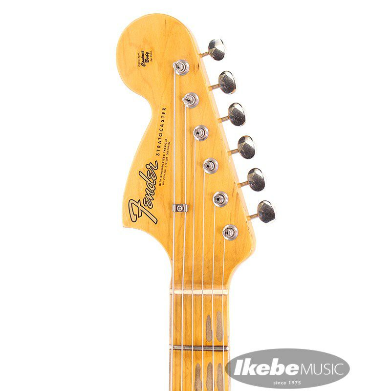 Custom Shop Jimi Hendrix Voodoo Child Signature Stratocaster Journeyman Relic (Black) 【特価】【Weight≒3.51kg】 [CL2020] 【ポイント18%還元】_4